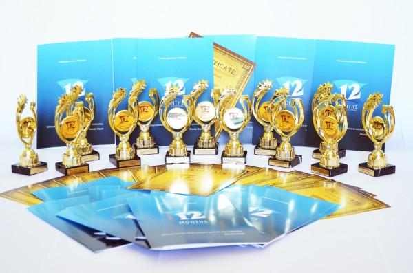 Premios del festival 12 Month Film Festival
