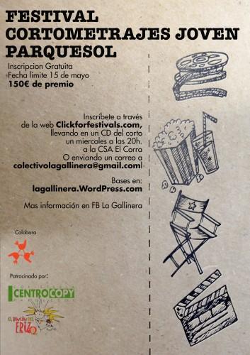 1er Festival de Cortometraje Joven Parquesol