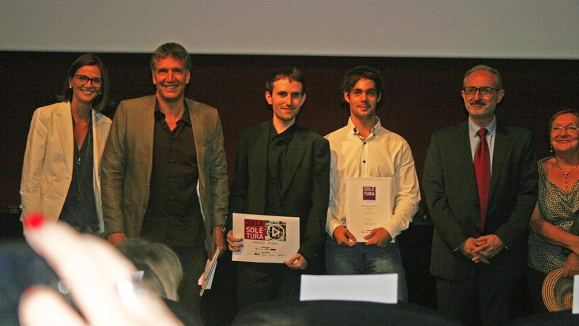 """""""El espejo humano"""" 3er Premio Mejor Cortometraje del V Premio Jordi Solé Tura (España)."""