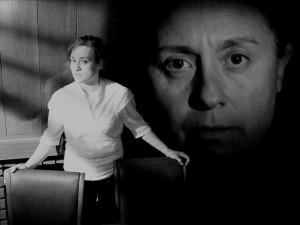 """""""Ante la araña"""" cortometraje de Marc Nadal con Montserrat Ocaña y Rosa Nicolás."""