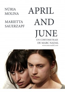 April and June Marc Nadal Poster 2 Nuria Molina