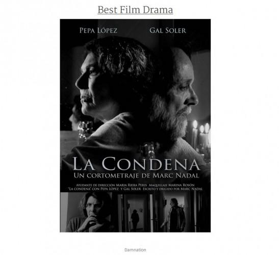 Best Film Drama La condena Marc Nadal