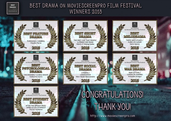 Best Drama on MovieScreenPro Film Festival