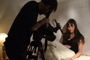 """Núria Molina y Marc Nadal en el cortometraje """"Ciudadanos"""""""