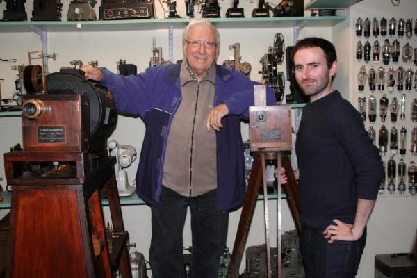 Junto a Josep M. Queraltó en su colección privada 'Colección Josep M. Queraltó