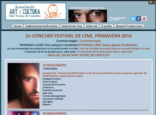 Concurs festival de cine El espejo humano