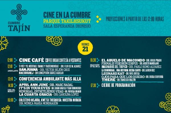 Muestra Internacional El Cine en la Cumbre April and June de Marc Nadal