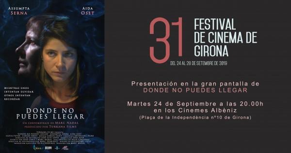 Sección Oficial del 31 Festival de Cinema de Girona