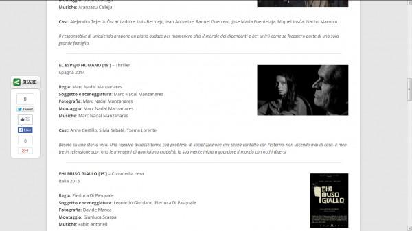 El espejo humano en Cervignano Film Festival