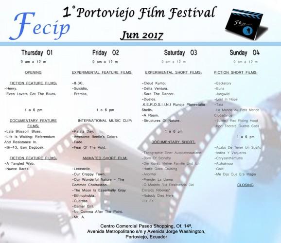 FECIP - Festival de Cine de Portoviejo