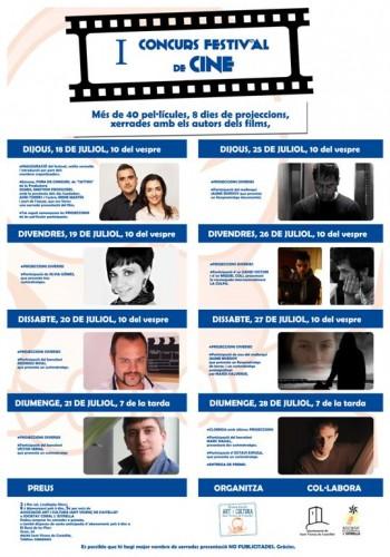 Festival de Cine cortometrajes Marc Nadal