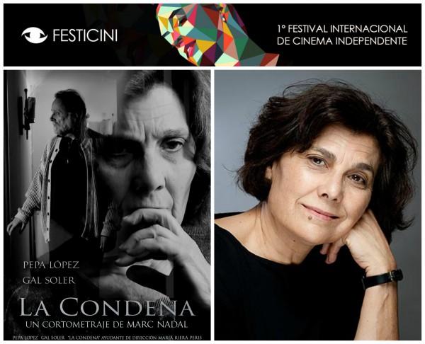 Festicini Pepa Lopez Nominada Mejor Actriz por La Condena