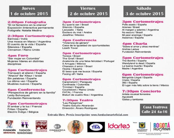 Festival Audiovisual internacionall Por que te quiero te apoyo