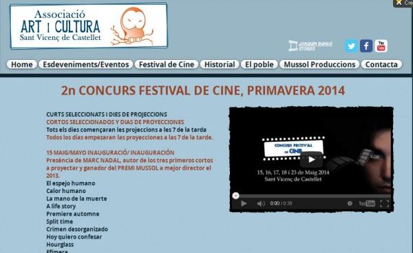 Festival de cine sant vicenç de Castellet