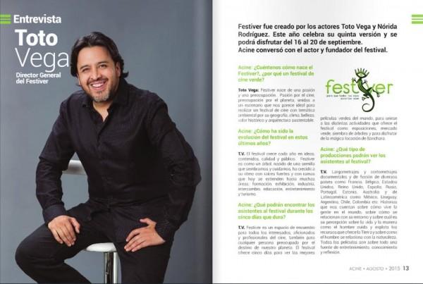 La condena Sección Oficial de la 5ta Edición del Festival de Cine Verde de Barichara (Colombia).