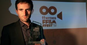 """La Condena"" (Damnation) Best Dramatic Short Film Award at the Ffwrnes Film Fest 2015 (UK)."