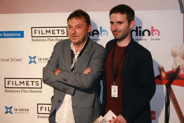 Agustin Argelich y Marc Nadal en el festival Filmets.
