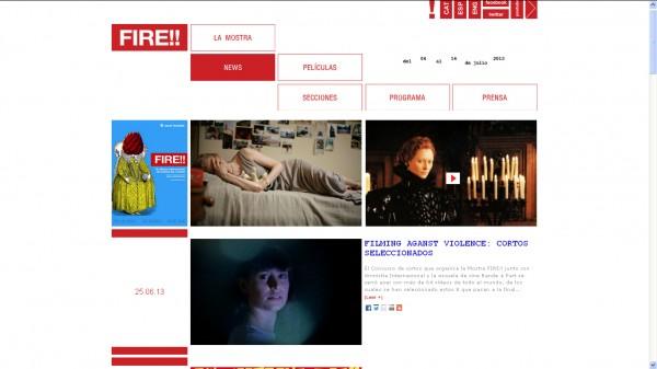Cortometraje en FILMING AGANST VIOLENCE, de la Fire!! Mostra Internacional de Cinema Gai i Lesbià de Barcelona