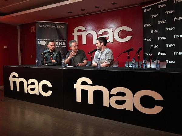 Actualización: Foto del evento en FNAC Nocturna Callao