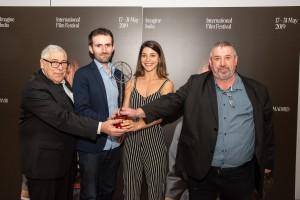 'Donde no puedes llegar' Premio Mejor Cortometraje en la 18ª edición de Imagineindia International Film Festival (España).