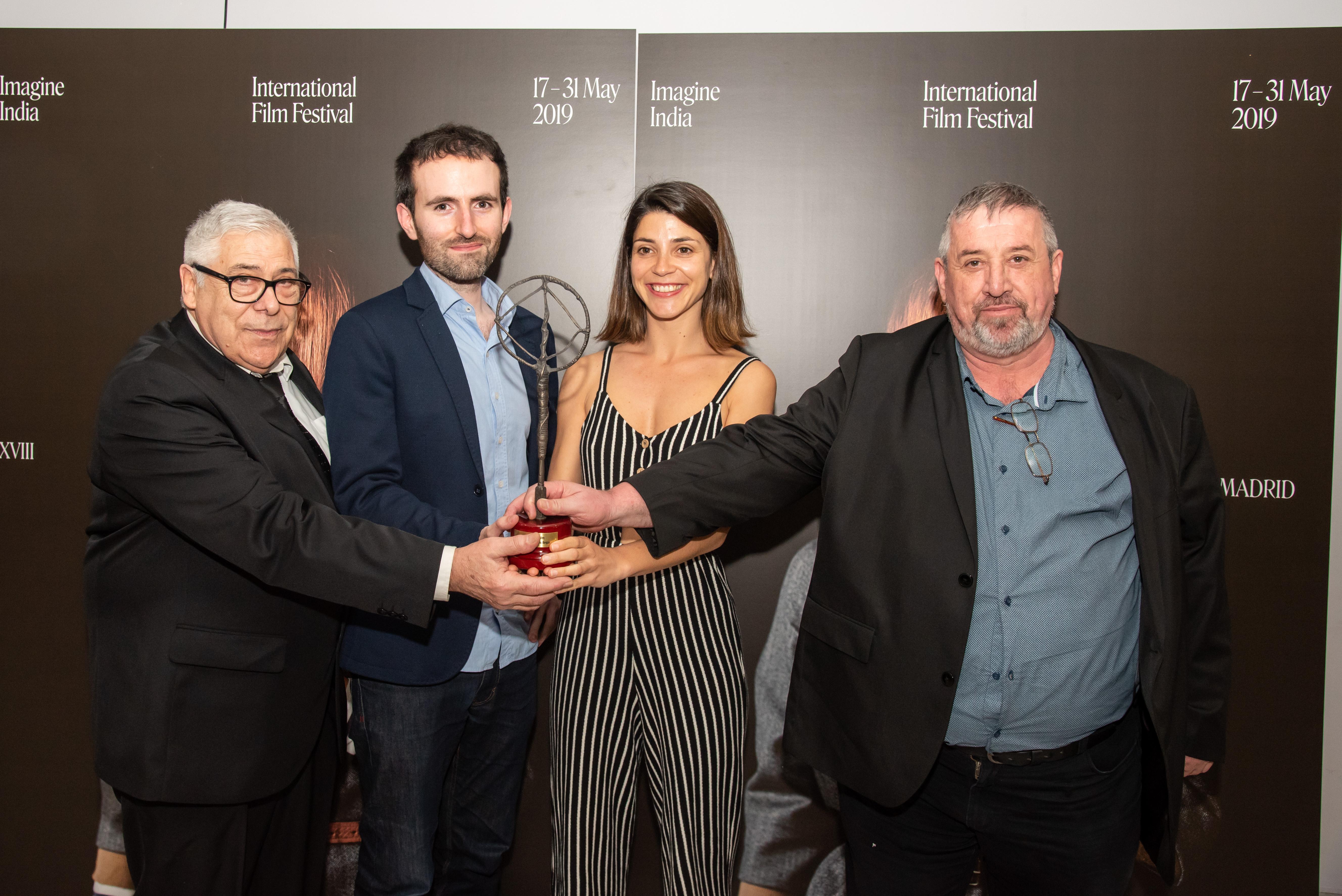 'Donde no puedes llegar' Gala de clausura de la 18ª edición de Imagineindia International Film Festival (España).
