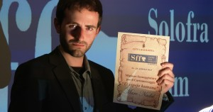 "Best Screenplay Award for ""The human mirror"" at XI Solofra Film Festival (Italy)."