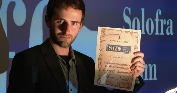 Solofra Film Festival Premio Mejor Guion Marc Nadal El espejo humano