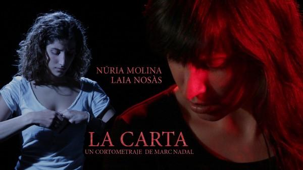 La carta cortometraje Marc Nadal seccion oficial MAC Mostra Anual de Curts de Olesa de Montserrat.