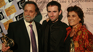"Pepa Lopéz wins the Best Actress Oriana Award for ""La Condena"" at Sant Andreu de la Barca International Film Festival (Barcelona)."