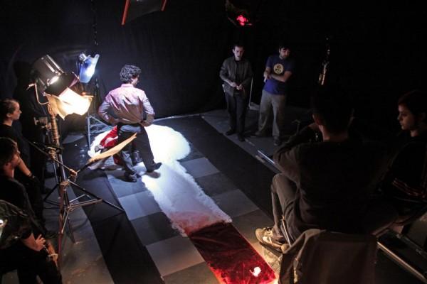 La mano de la Muerte cortometraje de Marc Nadal con Nuria Molina Jasp Sanpere-14