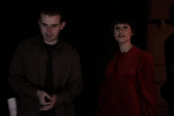 La mano de la Muerte cortometraje de Marc Nadal con Nuria Molina Jasp Sanpere
