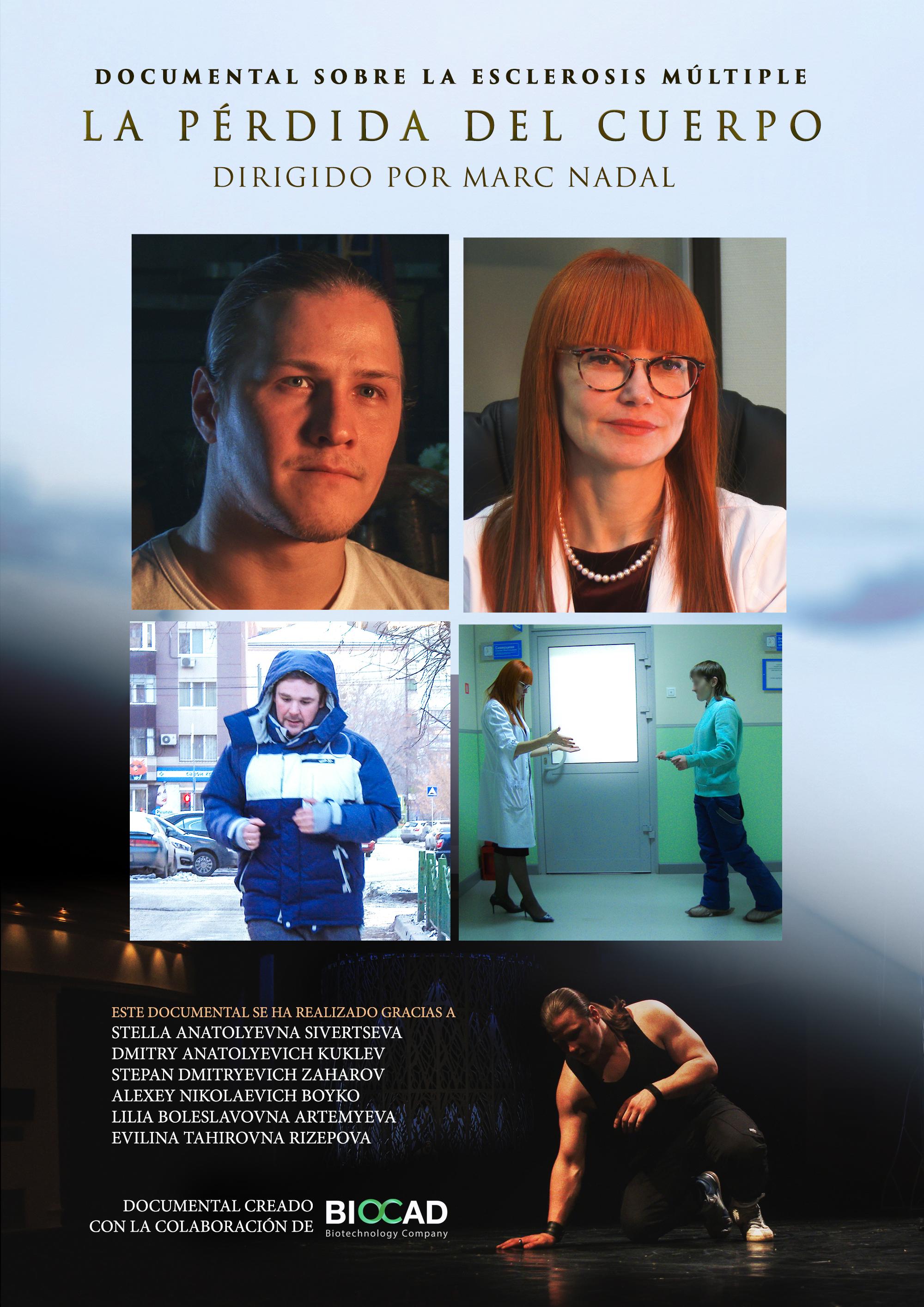La pérdida del cuerpo Documental Esclerosis Multiple