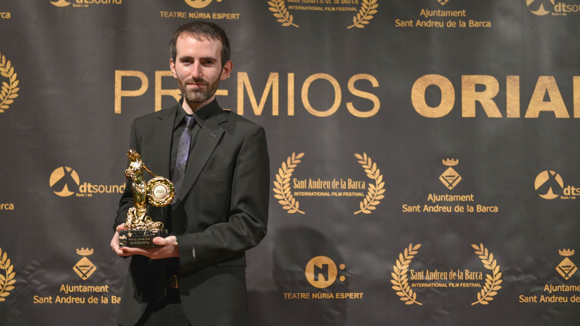 """The Loss of the Body"" Best Documentary Award at the 8th edition of the Oriana Awards of the Sant Andreu de la Barca Film Festival (Barcelona)"