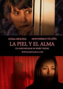 La piel y el alma Marc Nadal Poster Nuria Molina