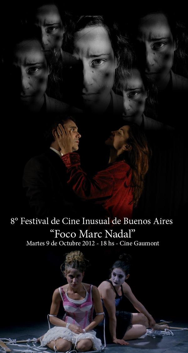 Ante la araña, La rosa congelada y Marionetas en el 8° Festival de Cine Inusual de Buenos Aires.