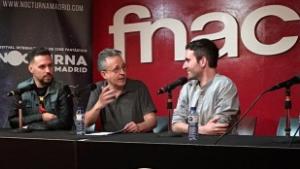 Mesa redonda de Cortometrajistas en el festival Nocturna de Madrid, en el Forum FNAC Callao.