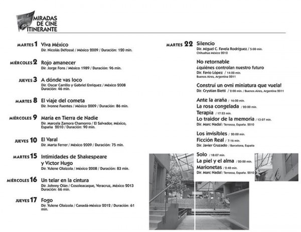 Miradas de cine itinerante veracruz octubre 2013