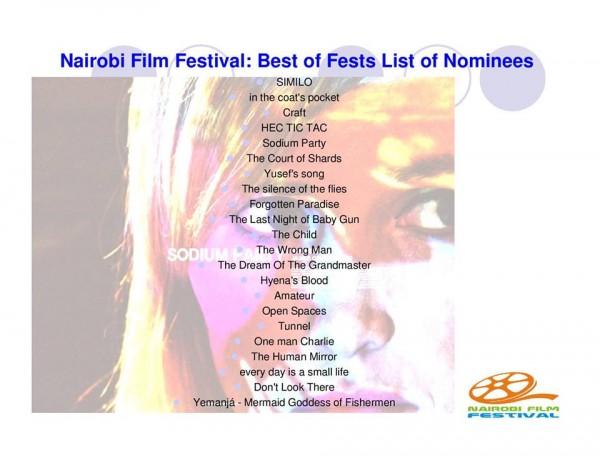 El espejo humano Sección Oficial de Nairobi Film Festival (Kenia).