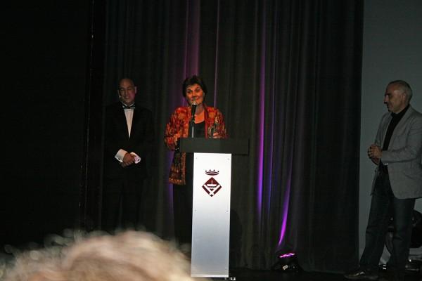 Premio Mejor Actriz Pepa Lopez por Cortometraje La condena de Marc Nadal