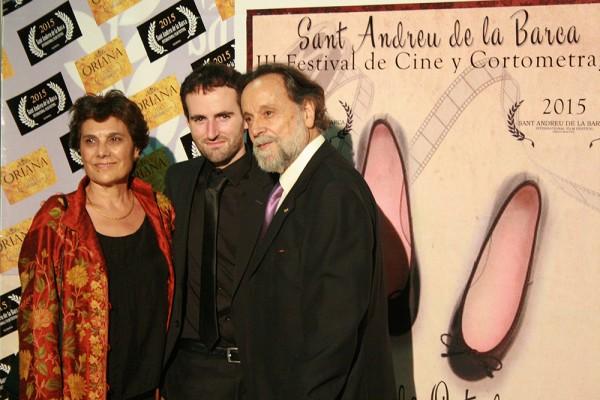 Festival Internacional Premios Oriana Cortometraje La Condena de Marc Nadal con Pepa Lopez y Gal Soler.