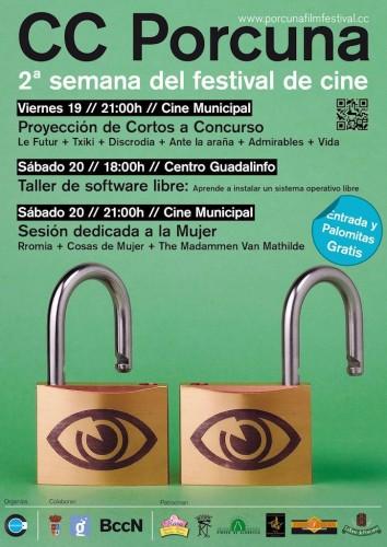 Porcuna Creative Commons Film Festival 2012 Ante la araña Marc Nadal