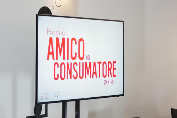 Premio Amico del Consumatore 2016