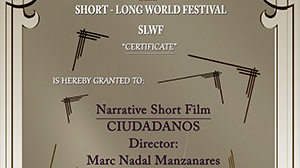 """Ciudadanos"" Best Narrative Short Film Award of the Short Long World Festival (Argentina)."