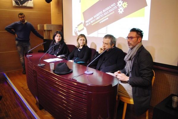 Premio Fausto Rossano per il Pieno Diritto alla Salute (Napoli, Italia).