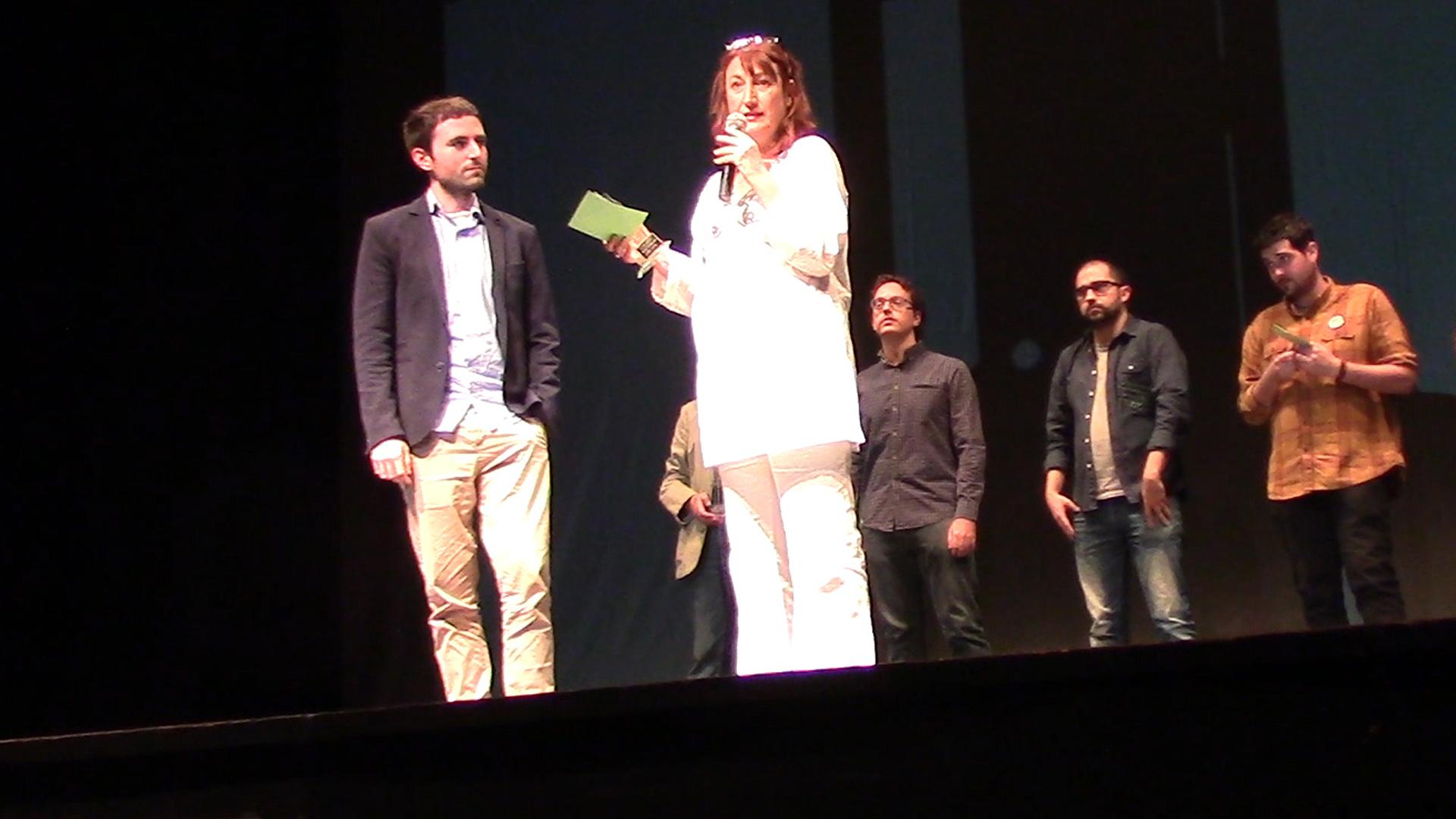 """""""La condena"""" Premio Mejor Actriz en Sanfernancine, Festival de Cortometrajes de San Fernando de Henares (España)."""