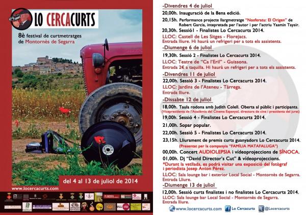 Programa Lo CercaCurts 2014