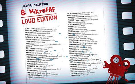Sección Oficial del 8th Mikro Festival Amaterskog Filma (Serbia)