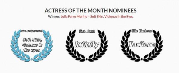 TMFF - Julia Ferre Merino Premio Mejor Actriz
