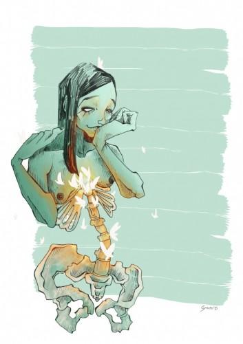 Sadie Sitges, ilustradora.