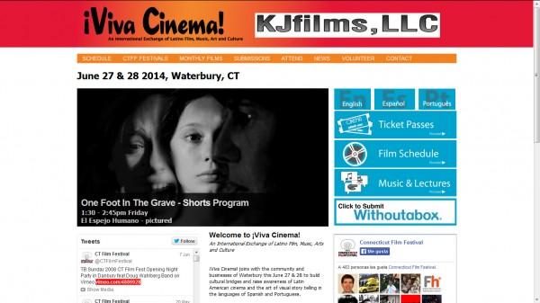 El espejo humano Sección Oficial II Viva Cinema Latino Film Festival (Estados Unidos).
